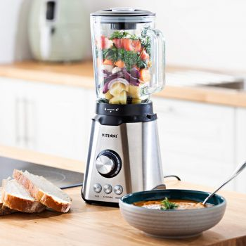 2 in 1 Glass Jug Table Blender