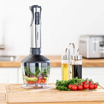 3 in 1 Immersion Hand Blender, Multi Chopper & Whisk Set