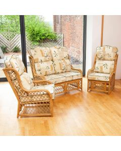 Alfresia Cadiz Conservatory Furniture Set with High Back Cushions