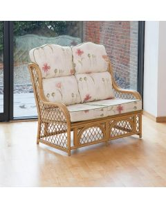 Alfresia Cadiz 2 Seater Conservatory Sofa with High Back Cushions