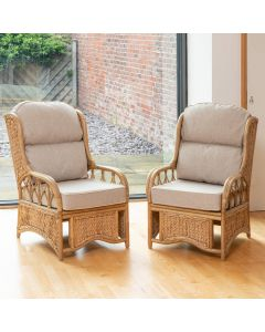 Alfresia 2 Penang Conservatory Armchairs