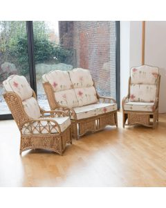 Alfresia Penang Conservatory Furniture Set with High Back Cushions