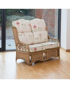 Alfresia Penang 2 Seater Conservatory Sofa with High Back Cushions