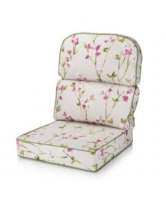 Alfresia Replacement Low Back Conservatory Furniture Cushion - Blossom Chintz