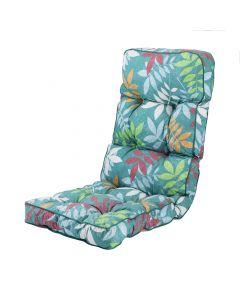 Alfresia Classic Recliner Cushion in Alexandra Green Leaf