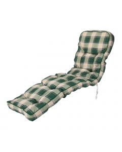 Alfresia Classic Relaxer Cushion in Green Check
