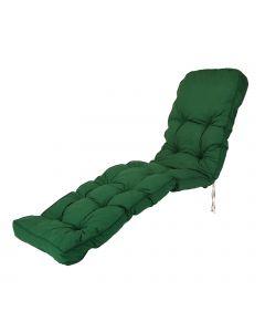 Classic Sun Lounger Cushion in Green