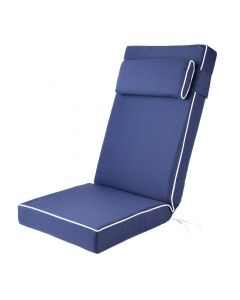 Alfresia Luxury Recliner Cushion in Navy Blue