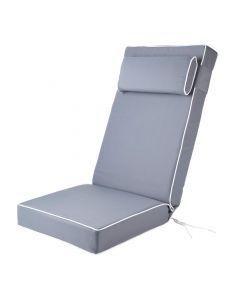 Alfresia Luxury Recliner Cushion in Grey