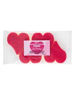 Minky Heart Scourers