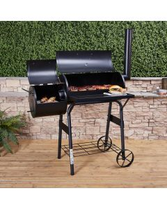 Fire Mountain American Charcoal Barbecue Smoker