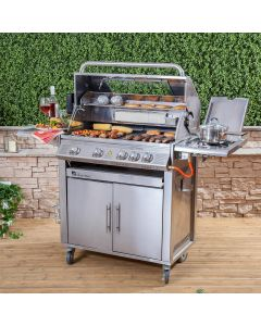 Fire Mountain Premier Stainless Steel 4 Burner Gas Barbecue