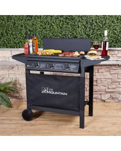 Fire Mountain Asgard Compact 3 Burner Gas Barbecue