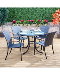 Alfresia Naples Garden Dining Set