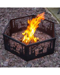 Fire Mountain Wildlife Fire Pit Ring