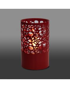 Fire Mountain Joondalup Table Top Bio-Ethanol Fireplace - Red