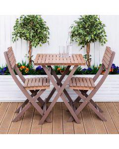 Alfresia Capri Wooden Bistro Set