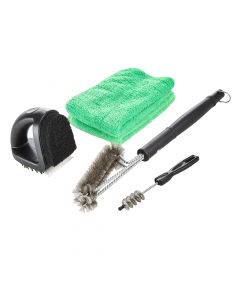 Fire Mountain Barbecue Cleaning Brush Set