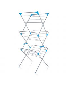 Minky 3 Tier Airer - Silver