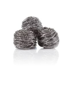 Minky Super Stainless Steel Scourers 3 Pack