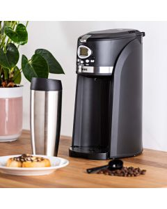 Bean to Cup Coffee Maker with On the Go Travel Mug