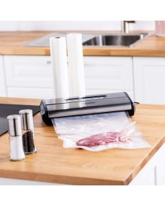 Vitinni Stainless Steel Vacuum Sealer with 5 Starter Bags and 24 FREE Sealer Bags